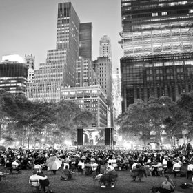Film Festival at Bryant Park