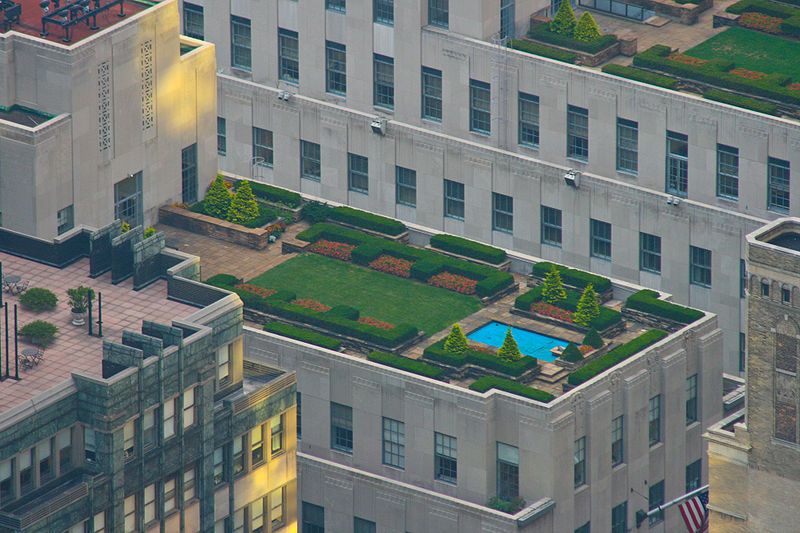 Rooftop Gardens at Rockefeller
