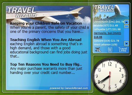 The Travel Wizard 1.0